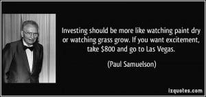 More Paul Samuelson Quotes