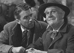 """... hole, doesn't he?"""" Clarence the angel in It's a Wonderful Life"""
