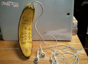 Funny Mobile Banana Phone