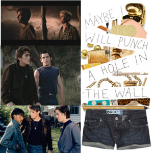 Ponyboy curtis quotes from book wallpapers