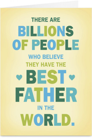Top 10 Fathers Day Cards 2013