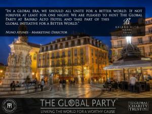 Bairro Alto Hotel Lisbon #TheGlobalParty #TheGlobalCharityTrust # ...