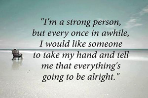 Am Strong Person