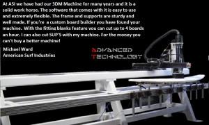 3DM MACHINE M WARD QUOTE