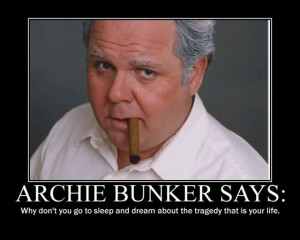 archie bunker quotes on race