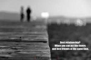 Best relationship?