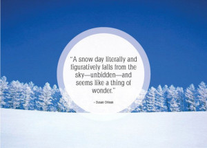Funny Quotes About Winter and Snow
