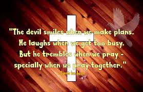 The Devil Smiles When We Make Plans. He Laughs When We Get Too Busy ...