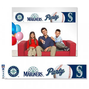 Seattle #Mariners Party Banner $19.99