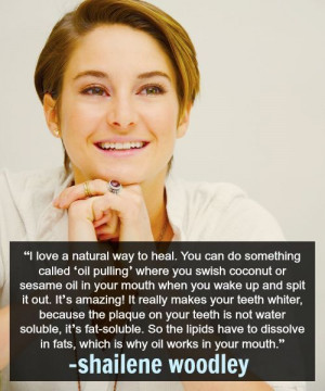 Shailene Woodley's Beauty Wisdom: The Top 5 Quotes You Won't Want ...