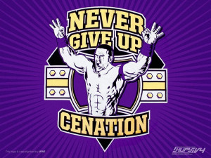 ... cena quotes -never-give-up-yours cached my favorite quotations