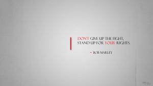 Bob Marley Quotes Wallpaper