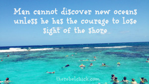 Quotes about Discovery, Inspired by the Ocean