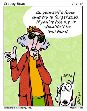 Maxine on New Years
