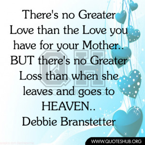 Sad Quotes About Death Of A Mother Your mother - mother quote