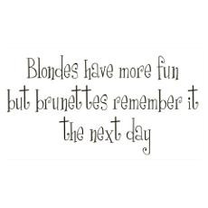 Blondes Have More Fun Posters