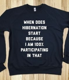 Hibernation - Lazy Days - Skreened T-shirts, Organic Shirts, Hoodies ...