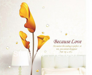 ... stickers cute flower wallpape poster kids wall decals decoration home
