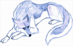 Blood Light Sad Wolf Wolves