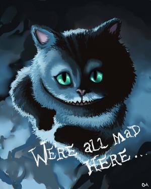 Cheshire Cat Quotes Tim Burton Cheshire cat by agenthojo