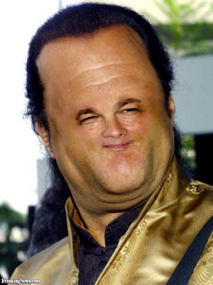 Steven Seagal big head