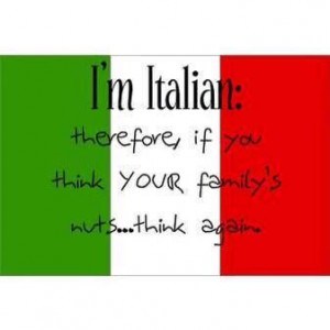 Italian families are the best