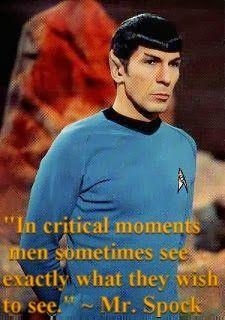 Star Trek Spock Famous Quotes Quotesgram