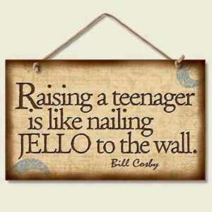 raising a teenager... bill cosby