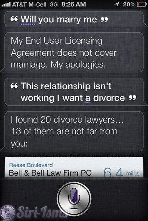 Will You Marry Me? – Siri Quotes