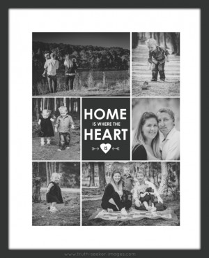 ... Print with Quote in black-and-white, and with a simple, black frame