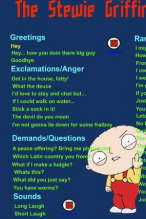 View bigger - Stewie Soundboard Family Guy for Android screenshot