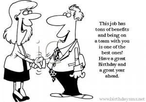 Funny Birthday Wishes for Co Worker