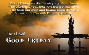 good friday saying and quotes for facebook whatsapp