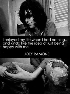 Joey Ramone Quotes (Images)
