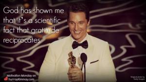 Matthew Mcconaughey Oscar Acceptance Speech Via Hurray Kimmay