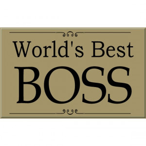 worlds best boss sign remember your boss for boss s day with this ...