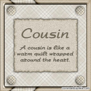 Cousin Quotes For Scrapbooking - 31.2KB