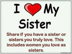love it i love my sister 0a 899 i love my sister myspace graphics love ...