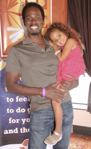 Laila Ali, Harold Perrineau, & more with their kids @Pre Emmy Boom ...
