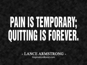 Lance Armstrong Pain Quotes
