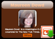 Maureen Dowd quotes