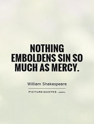 William Shakespeare Quotes Mercy Quotes