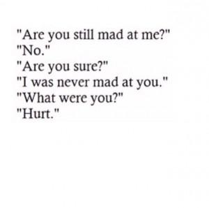Im Hurt Quotes