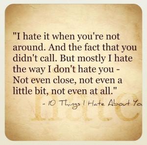 hate it when …