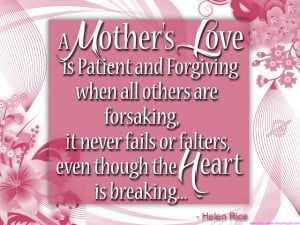 happy mothers day quotes 2013 Happy Birthday In Heaven Mom Quotes