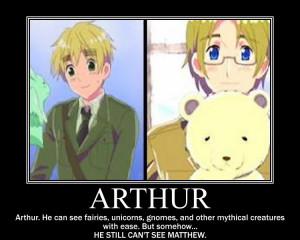 Hetalia Canada and Arthur