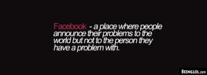 Facebook Quote Facebook Timeline Cover