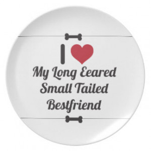 Funny Dog Quote Dinner Plate