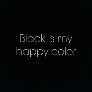 love, quotes, tumblr, black is not a color