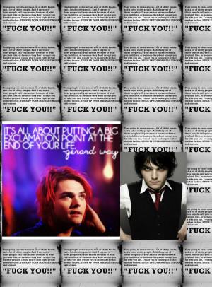 Gerard Way About Suicide
